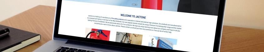 JACTONE LAUNCHES NEW WEBSITE