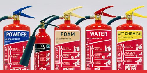 premium range fire extinguishers