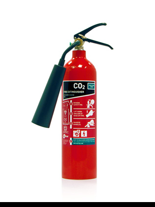 2kg co2 fire extinguisher with frost free horn