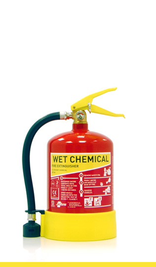 3 litre wet chemical fire extinguisher