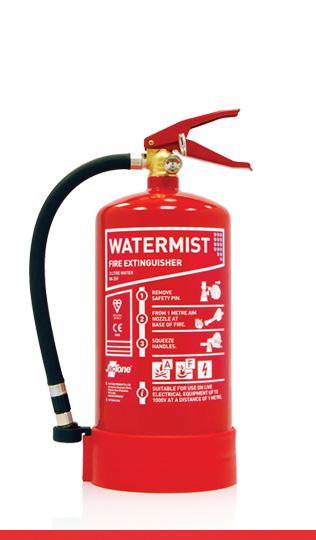 3 litre water mist fire extinguisher