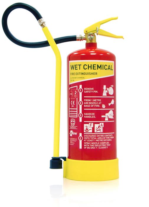 6 litre Wet Chemical extinguisher w/lance