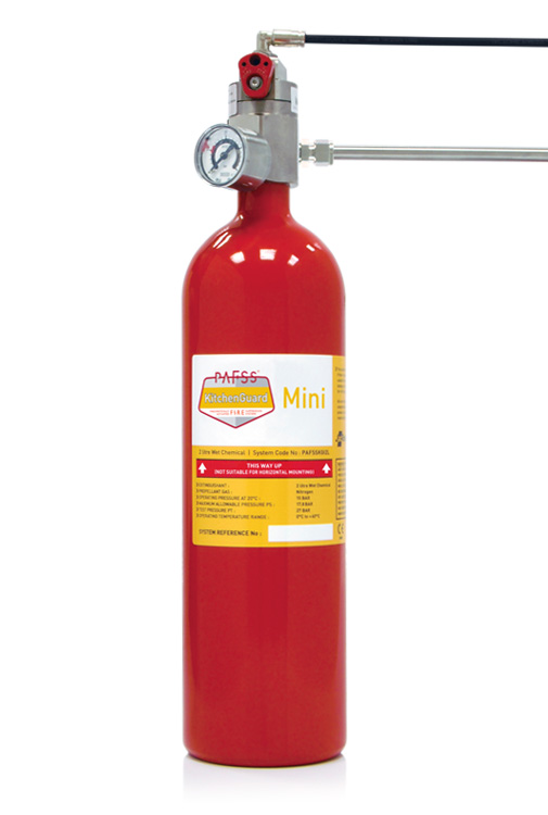 Residential Kitchen Fire Suppression Systems PAFSS KitchenGuard Mini