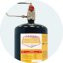 PAFSS KitchenGuard Fire Suppression