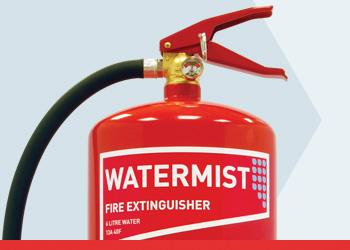 Watermist Premium Range Fire Extinguishers