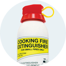 Foam Cooking Fire Extinguisher