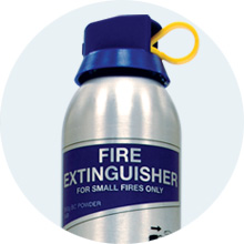 BC Powder Aerosol Extinguisher