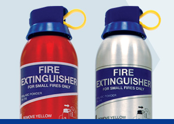 ABC Powder Aerosol Range Fire Extinguishers
