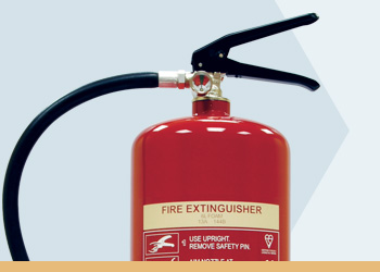 Foam Basic Range Fire Extinguishers
