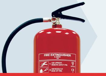 Water Basic Range Fire Extinguishers
