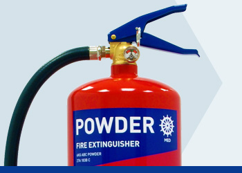Powder MED Range Fire Extinguishers