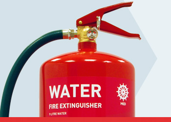 Water MED Range Fire Extinguishers