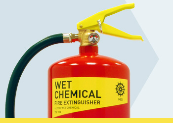 Wet Chemical MED Range Fire Extinguishers