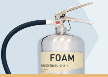 Foam Prestige Range Fire Extinguishers