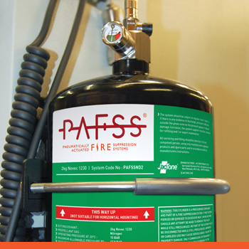 Jactone PAFSS Fire Suppression Systems