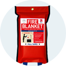 JT510 Flat Pack Fire Blanket