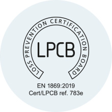 LPCB BS EN 1869:2019 certification