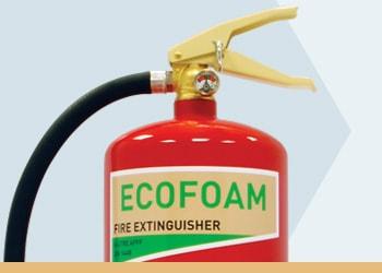 Foam Fire Extinguishers from Jactone