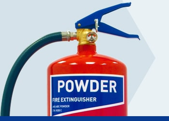 Powder Fire Extinguishers from Jactone