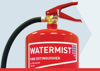 Water Mist Fire Extinguishers from Jactone