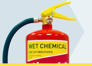 Wet Chemical Kitchen Fire Extinguishers from Jactone