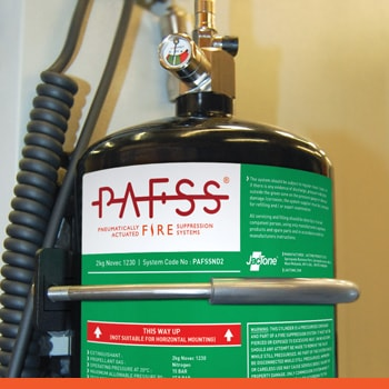 Fire Safety Equipment - PAFSS Fire Suppression Systems