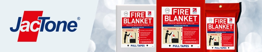 Another World First from Jactone... EN 1869:2019 Certified Fire Blankets