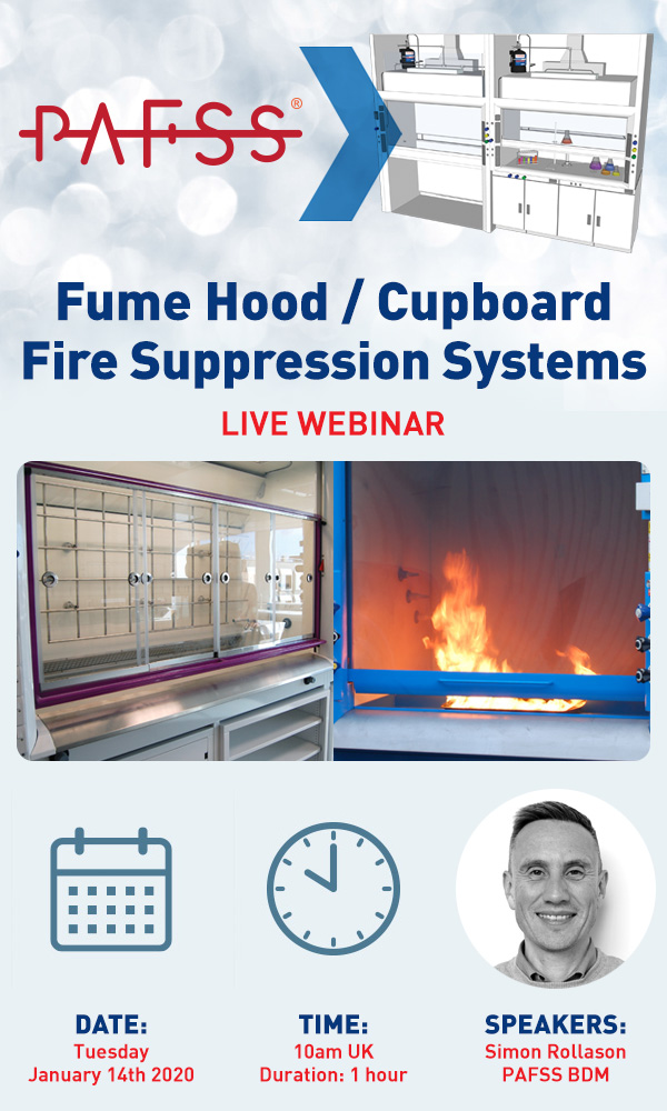 PAFSS Fume Hood Fire Suppression Systems Live Webinar