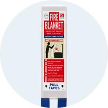 JT510 Square Pack Fire Blanket