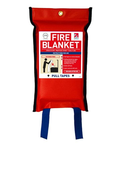Flat Pack Fire Blanket 1.2m x 1.2m