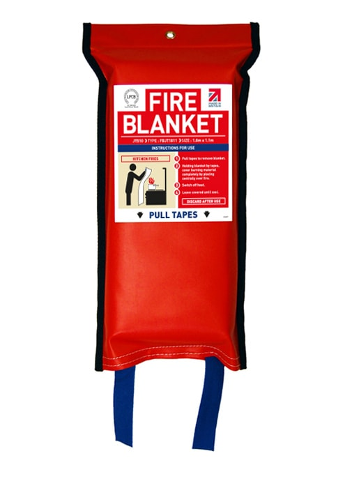 Flat Pack Fire Blanket 1.8m x 1.1m