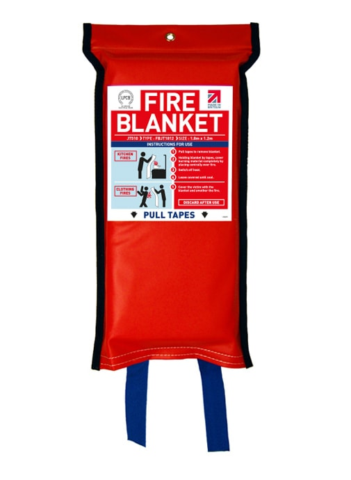 Flat Pack Fire Blanket 1.8m x 1.2m
