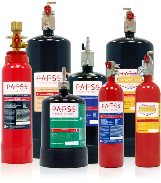 PAFSS Fire Suppression Systems