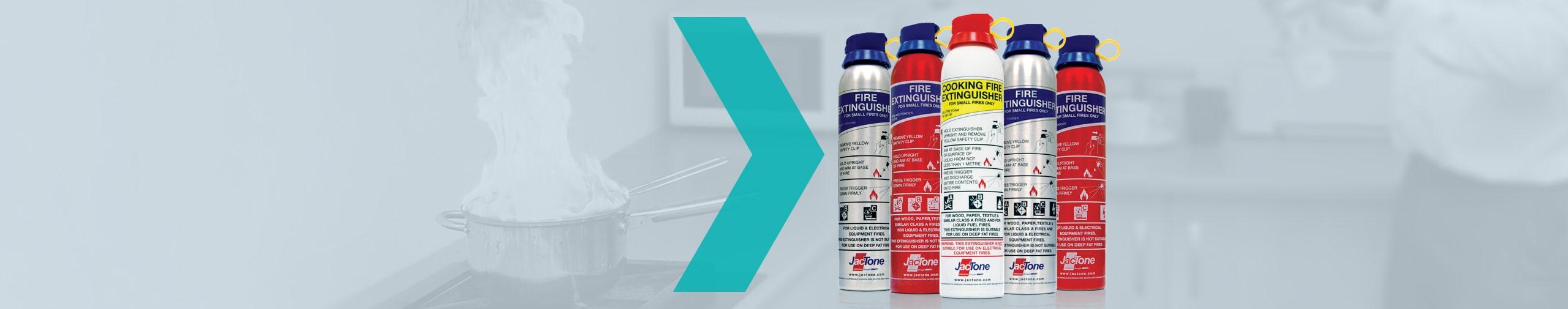 Jactone Aerosol Fire Extinguishers