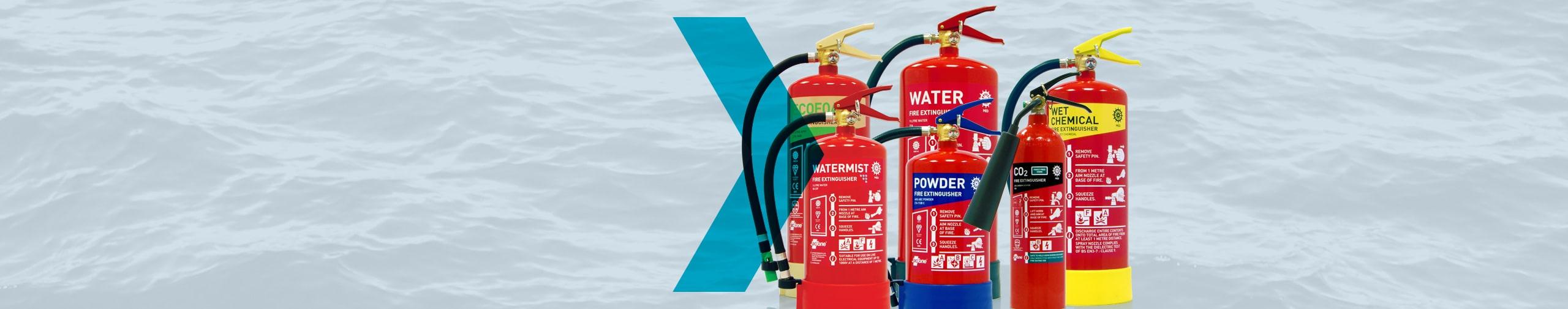 Jactone Marine Fire Extinguishers