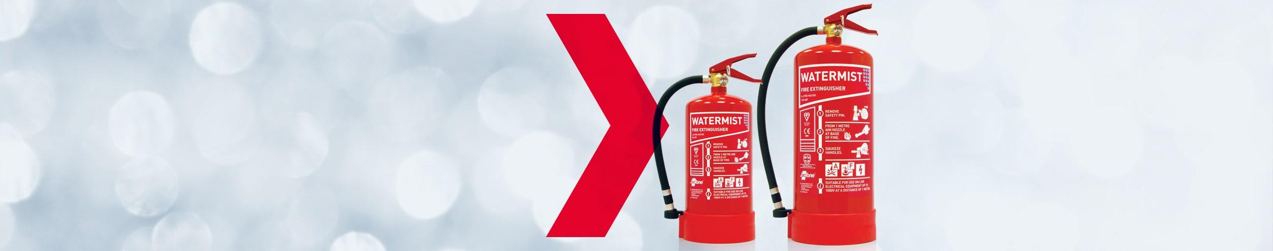 Jactone Water Mist Fire Extinguishers