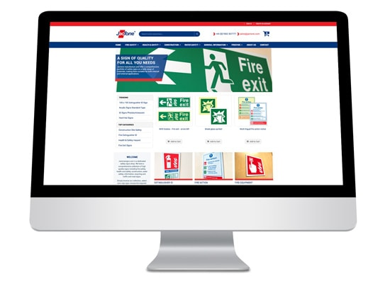 Jactone Safety Signs Website