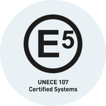 UNECE R107 certification for Bus and Coach Fire Suppression Systems