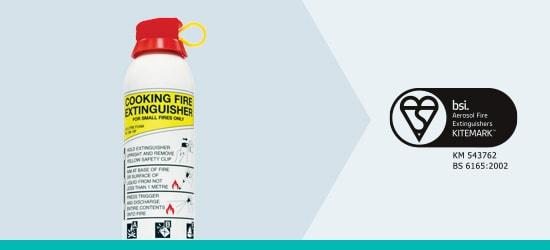 Aerosol Range Foam Fire Extinguisher