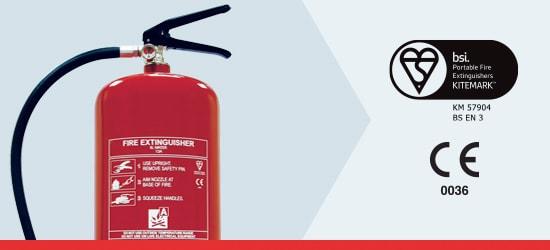 Basic Range Water Fire Extinguishers