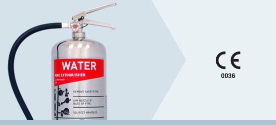 Prestige Range Water Fire Extinguishers