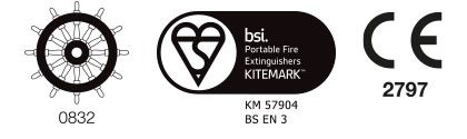 Water Fire Extinguisher Marine Range Certification
