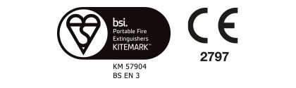 Water Fire Extinguisher Premium Range Certification