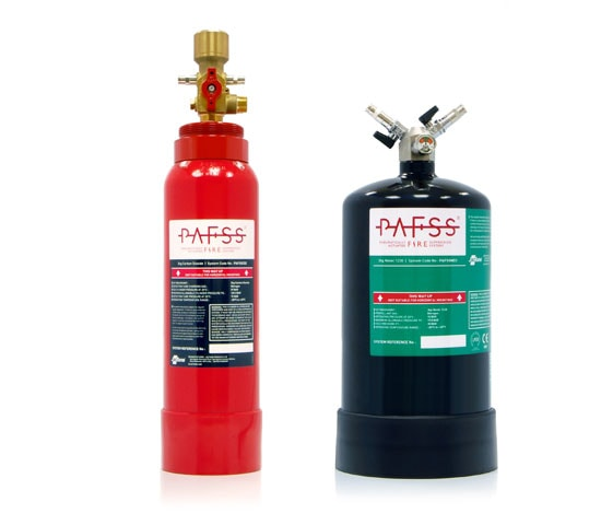 PAFSS CO2 and Indirect Electrical Fire Suppression Systems