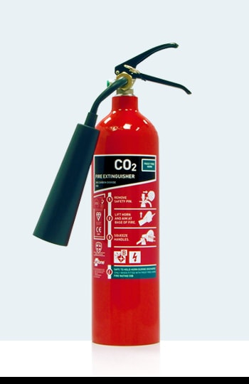 Fire Extinguisher Types and Colours - CO2
