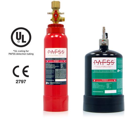 PAFSS CNC Machine Fire Suppression Systems