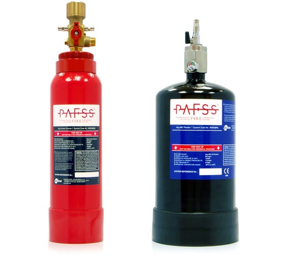 PAFSS Fume Cupboard and Hood Fire Suppression Systems