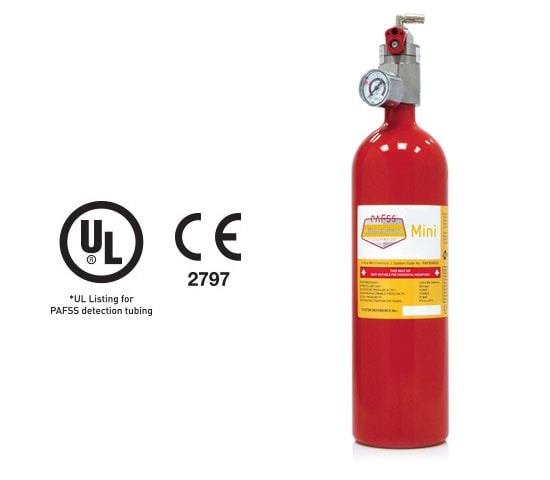 PAFSS KitchenGuard Mini Residential Kitchen Fire Suppression Systems