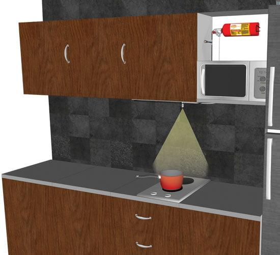 PAFSS KitchenGuard Mini Fire Suppression Systems