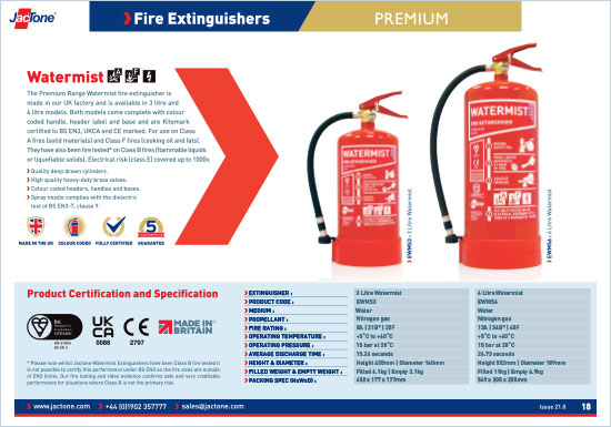 Fire Safety Equipment Catalogue Fire Extinguishers